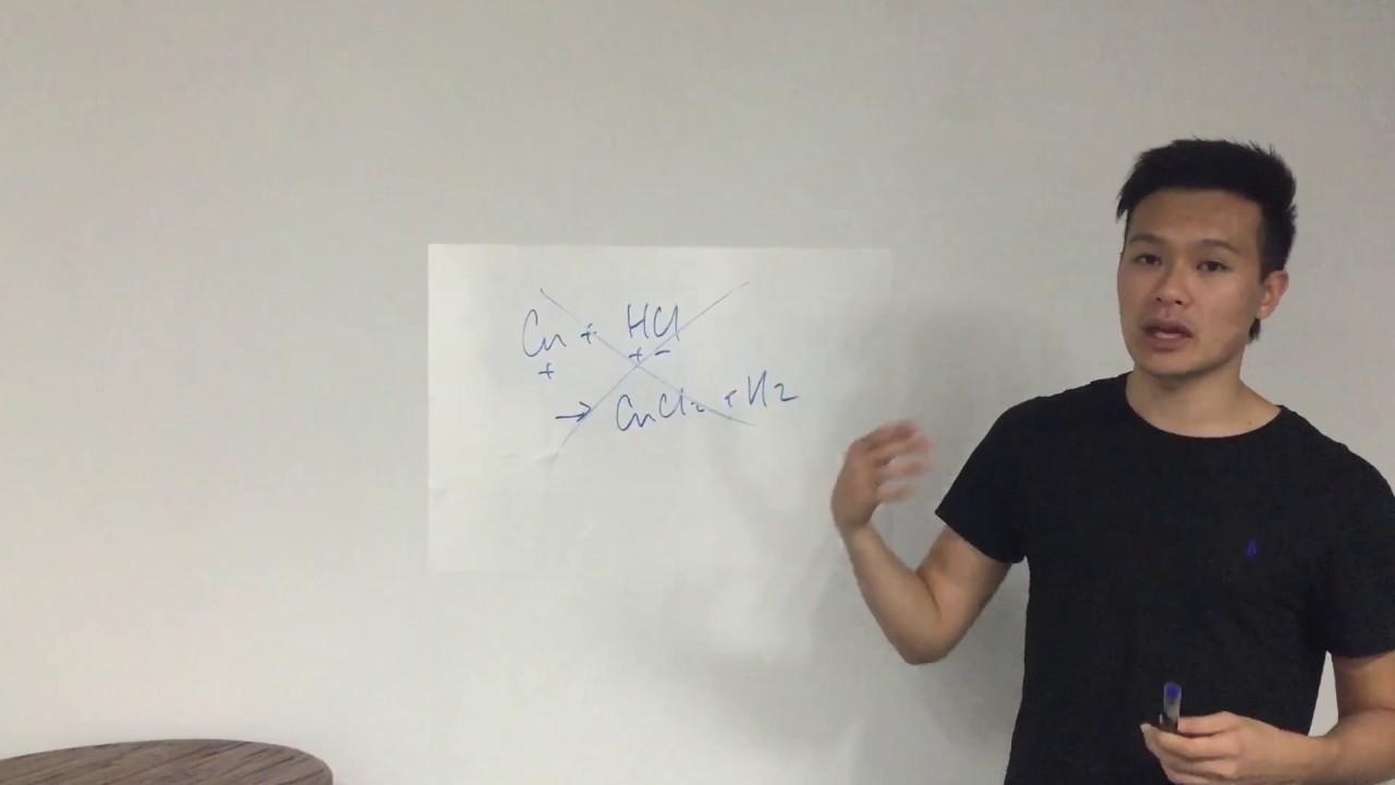Dr Sean 高速解書系列 - 10分鐘教你寫chemical equation