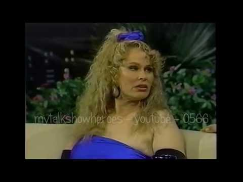 KAREN BLACK HAS FUN ON THE 'PAT SAJAK SHOW'  (R.I.P)