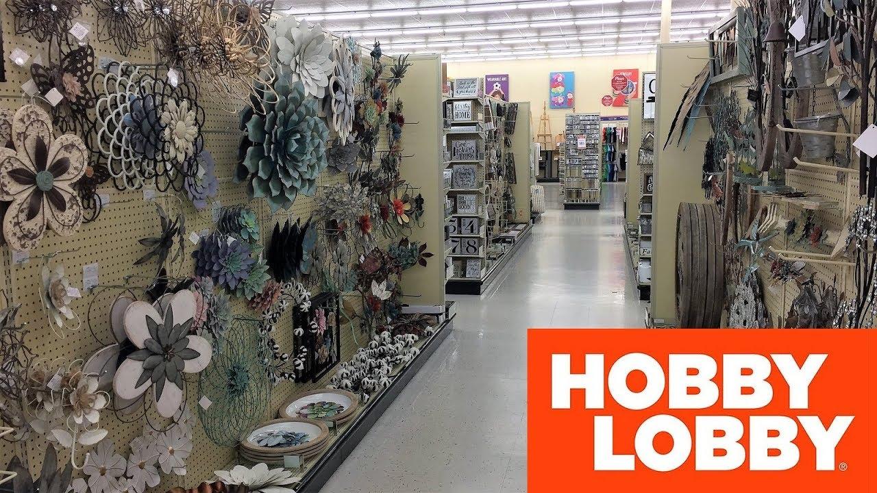 Hobby Lobby Spring 2019 Home Decor Metal Wall Art Shop