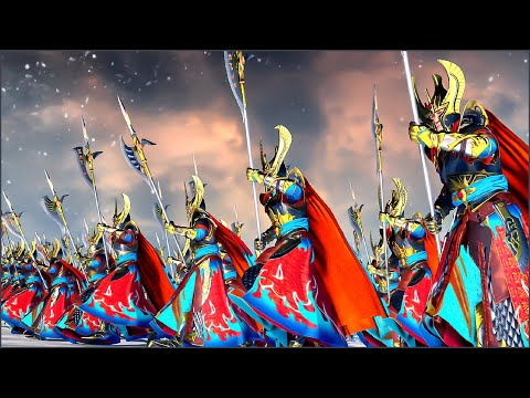 Blood on the Snow - THE EMPIRE ⚔️ HIGH ELVES - Total War WARHAMMER 2 |