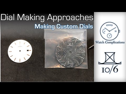 Making Custom Dials Part 1