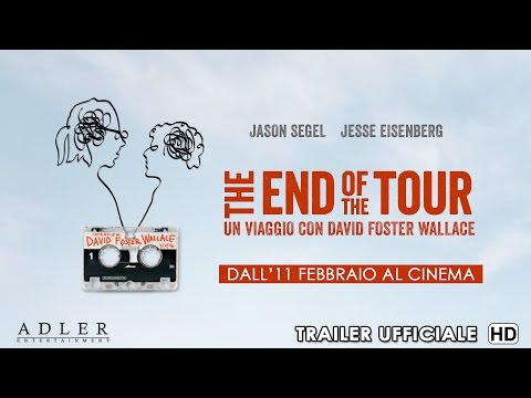 THE END OF THE TOUR Trailer ufficiale ITA