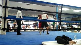 Noah of lincoln boxing club Warzone fight
