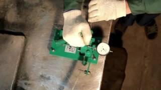 видео Разводной станок для ленточных пил