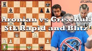 Current Events: Aronian vs Grischuk StL Rapid and Blitz (2020)