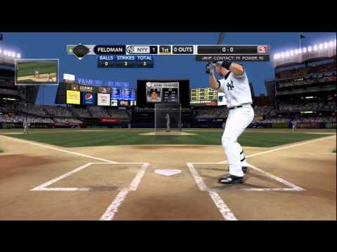 MLB 2K10 Yankees Vs Rangers ALCS 2010  Game 3 Gameplay Part 1 of 4