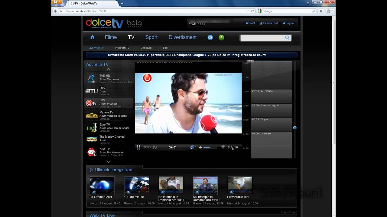 how to watch romanian tv online
