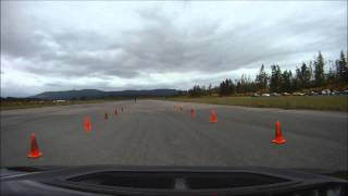 Chris Schmich #120 (Time Only - Afternoon) Mitsubishi EVO8 @ NWR SCCA Autocross 2011 Event 4 - run 3 thumbnail