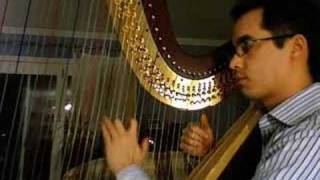 The Castle of Dromore on the Harp