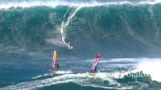 Jaws Big Wave Windsurfing 3-15-2011