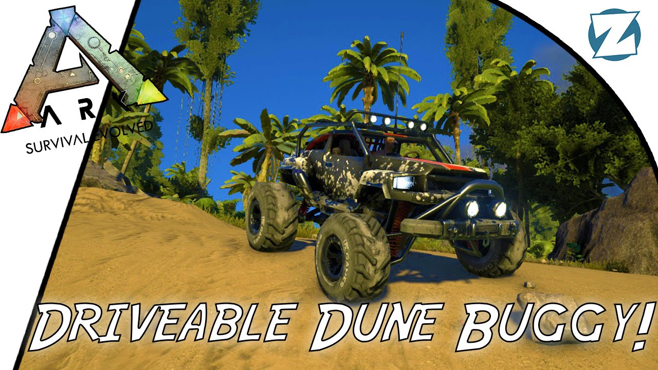 Ark survival evolved driveable dune buggy spotlight youtube malvernweather Gallery