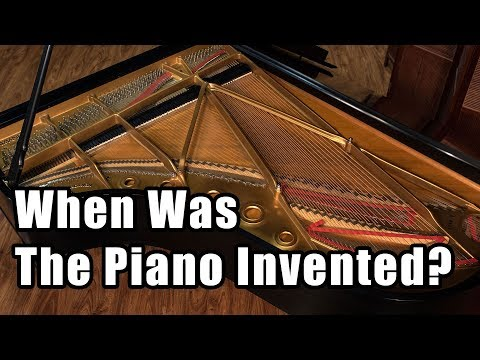 the history and evolution of the piano A brief history of the keyboard by sheau-ping hu associate professor, music department fu jen university, taipei taiwan in the early 1700's there was a new invention that was to change the course of.