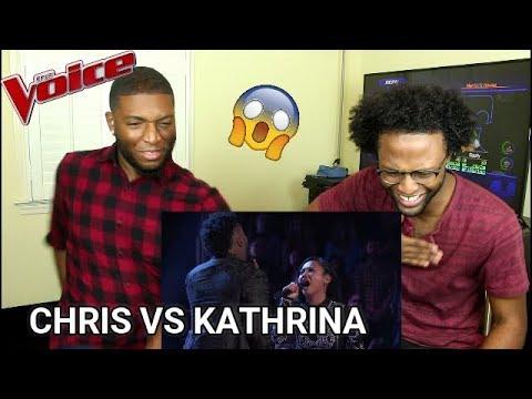 The Voice 2017 Battle - Chris Weaver vs. Kathrina Feigh: