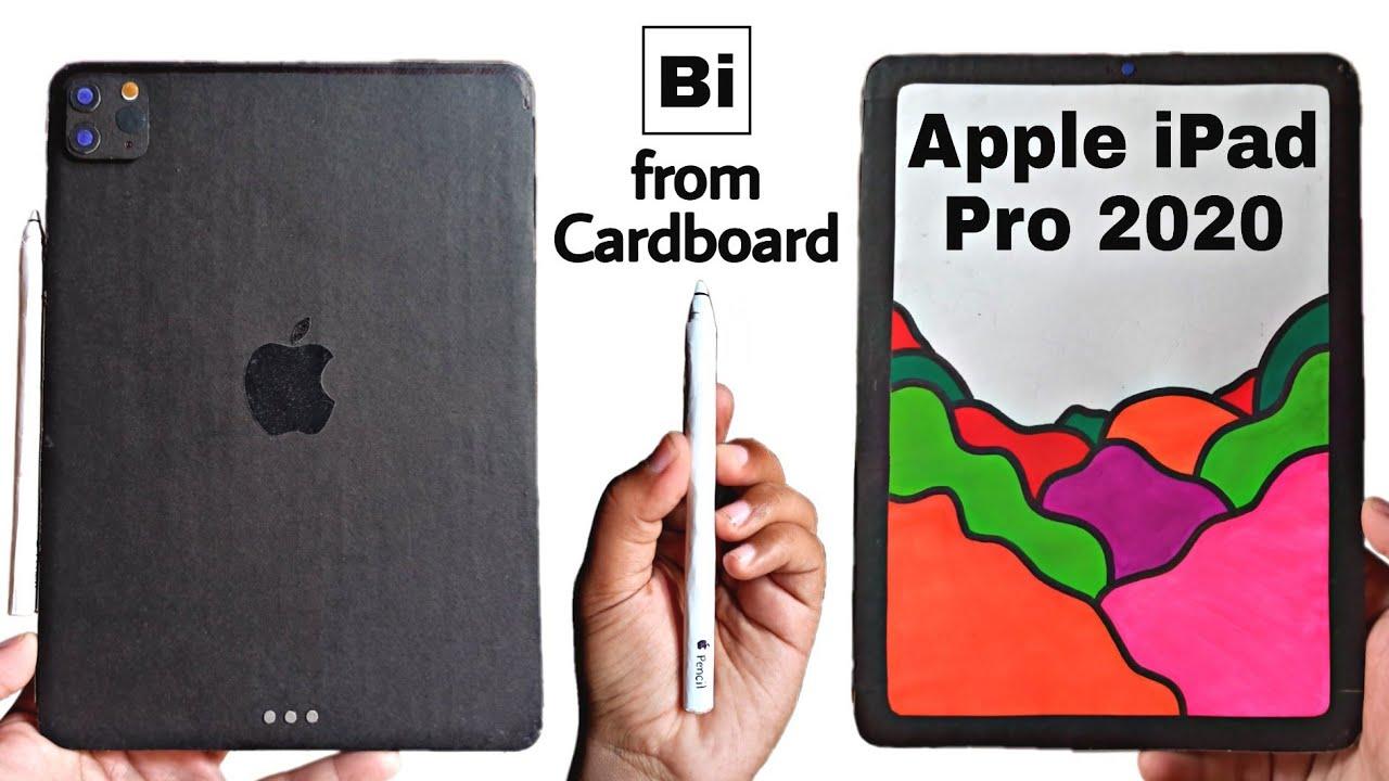 Apple iPad Pro 2020 & Apple Pencil from Cardboard | Diy Cardboard iPad | Bi