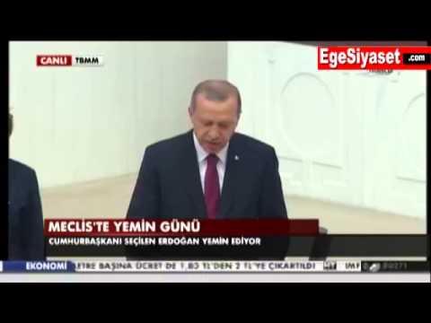 Erdoğan Yemin Etti, Görevine Başladı