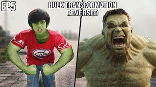 The Hulk Transformation: REVERSED Episode 15 | A Short film VFX Test