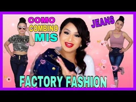 COMO COMBINO MIS JEANS//FACTORY-FASHION