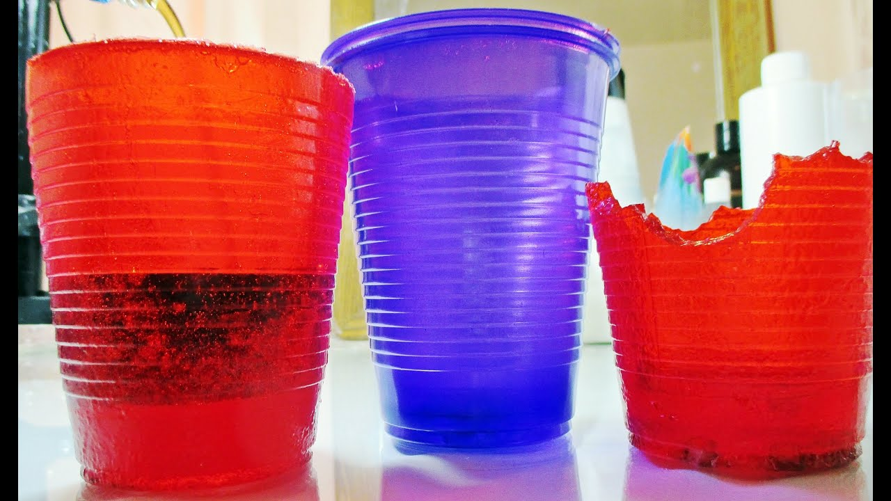 how to make clear jello