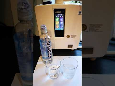 Bottled Alkaline Water V Enagic Kangen Water 9.5