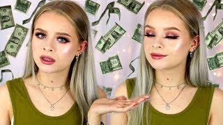 FULL FACE USING MOST EXPENSIVE MAKEUP - WORTH THE HYPE?! | sophdoesnails