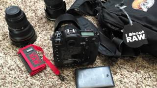 What I am taking to Photograph the POPE