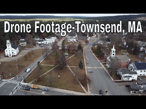 Townsend, MA Drone Footage