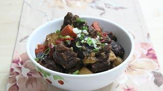 Galbi-jjim 갈비찜 : Beef Short Ribs