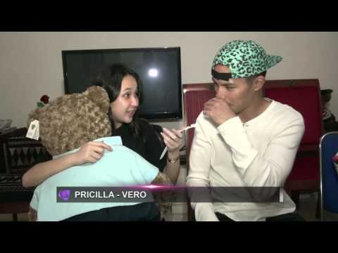 Vero Walandau berikan hadiah spesial valentine untuk Pricillia Blink
