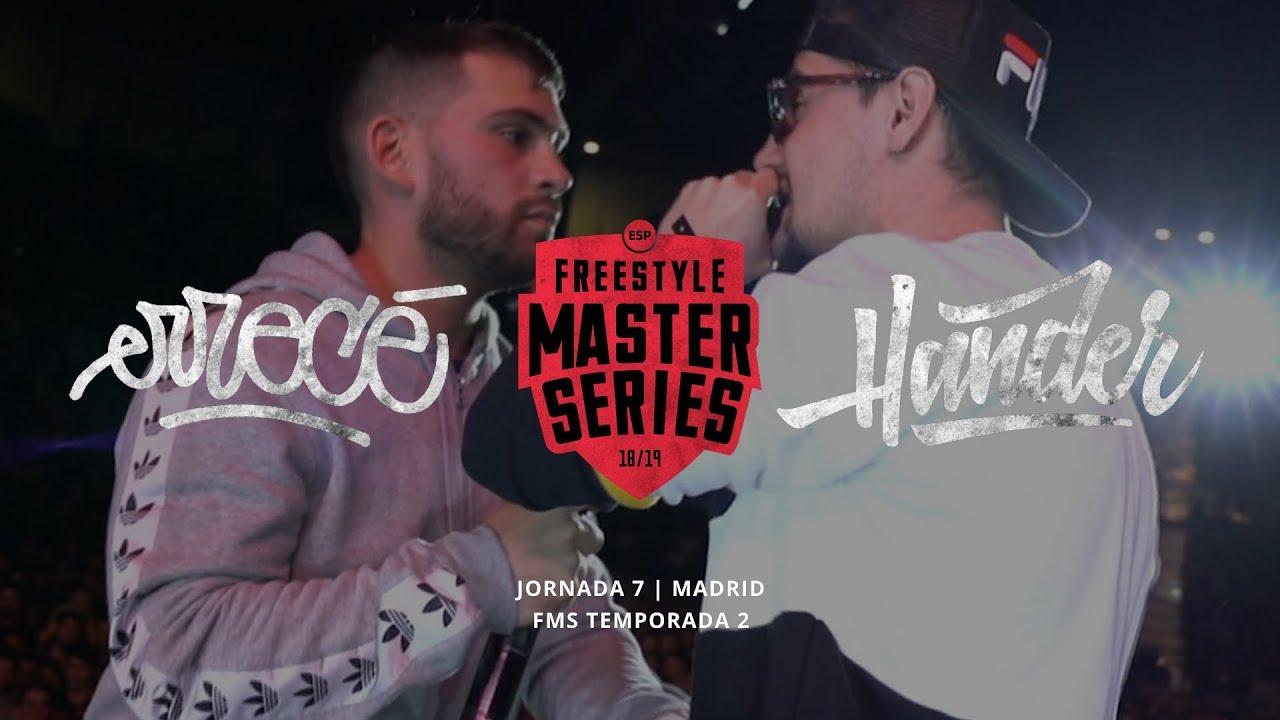 ERRECE VS HANDER FMS MADRID Jornada 7 Oficial