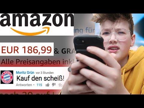 Ich mache ALLES was ihr schreibt! (Amazon Bestellung!) 😩 **100€**