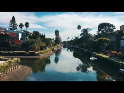 Canais de Venice Beach na California