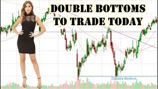 Double Bottom Patterns You Can Trade Today. 2/26/2019
