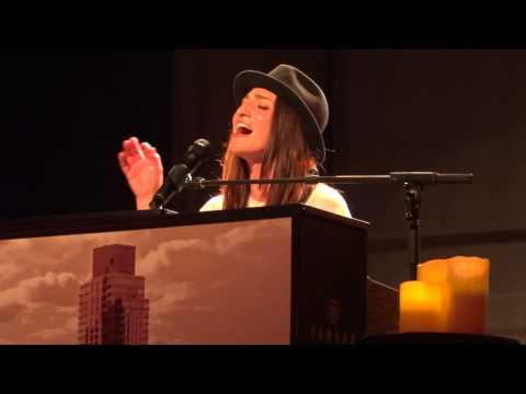 Sitting on the Dock of the Bay (cover), Sara Bareilles, Seattle, WA, 2013