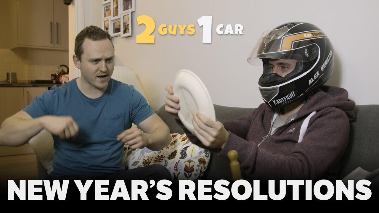 Car Guys VS Non-Car Guys: New Year's Resolutions