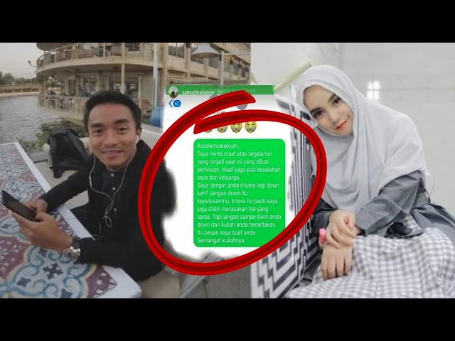 Inilah pesan menohok Salmafina untuk Taqi malik, setelah gugat cerai