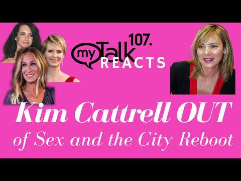 #satc Sex and the City Reboot - Kim Cattrell #Samantha Out