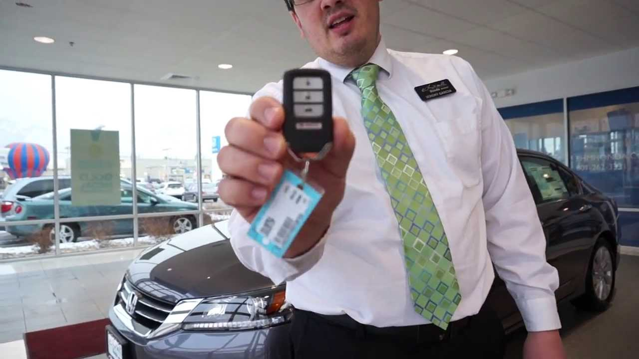 Honda Smart Entry And Push Button Start Youtube