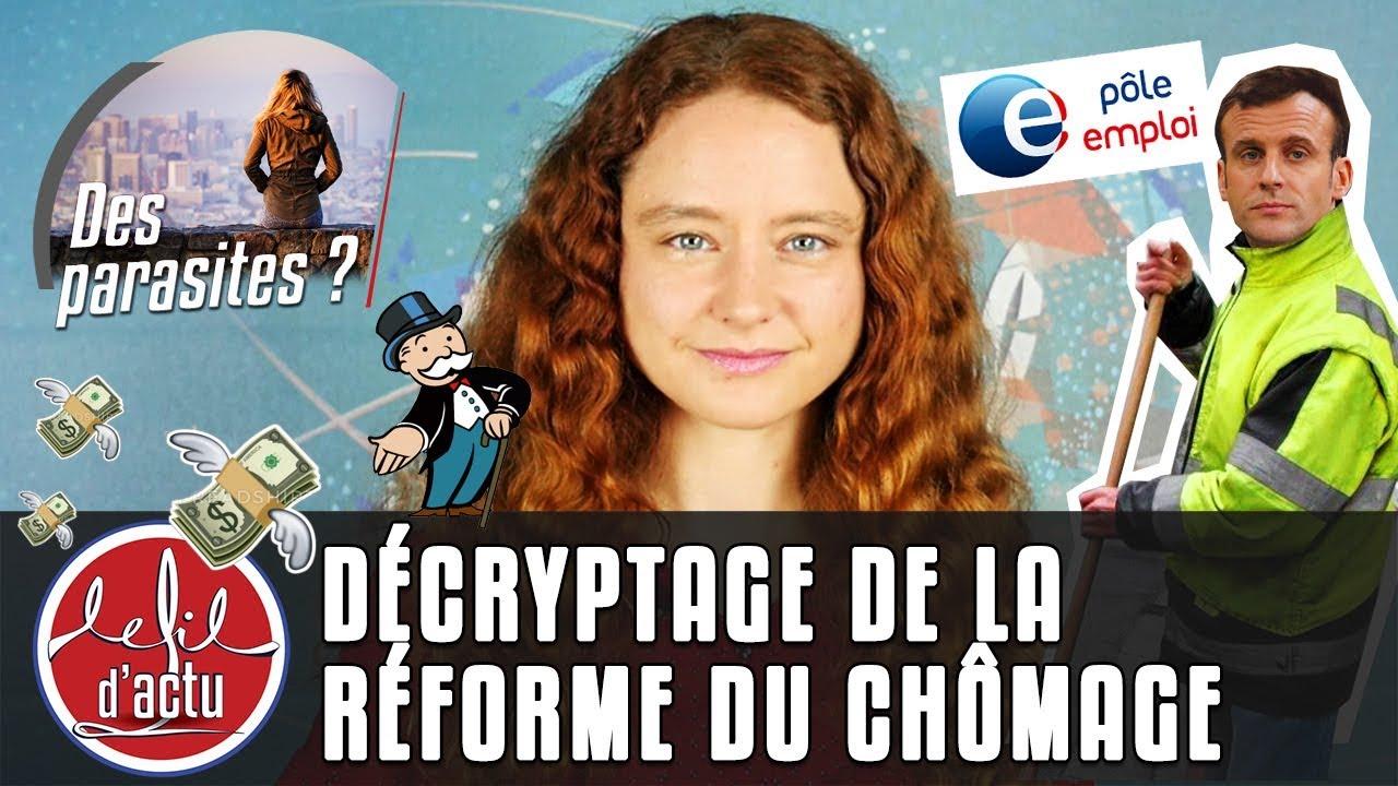 DÉCRYPTAGE DE LA RÉFORME DU CHÔMAGE