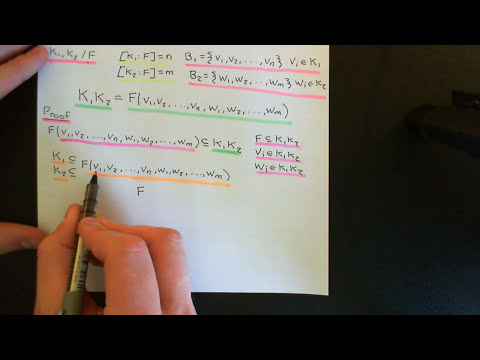 The Composite of two Fields Part 1