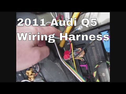 2011 Audi Q5 Trailer Wiring - YouTube | Audi Q7 Trailer Wiring |  | YouTube