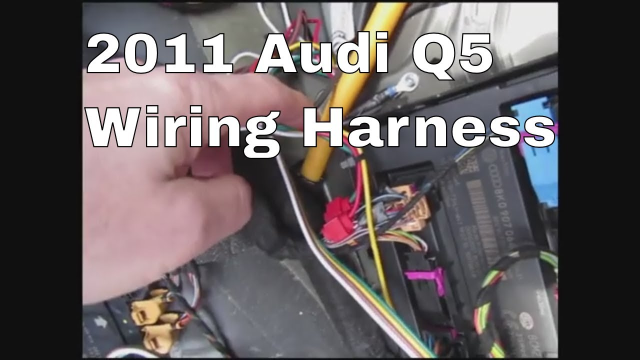 small resolution of 2011 audi q5 trailer wiring youtube audi q7 trailer wiring harness audi trailer wiring harness