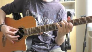 Avenged Sevenfold - Roman Sky - Guitar Cover  Acoustic