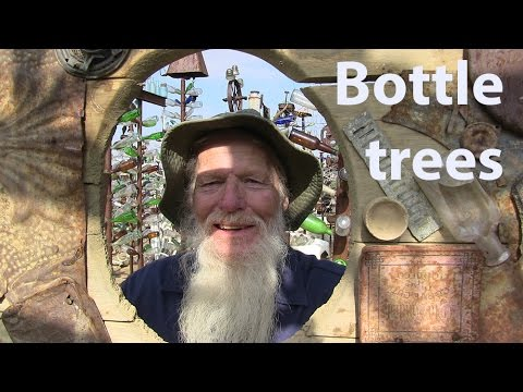 Route 66 Bottle Trees in the California desert - Going Alone - Adventures in The Great Indifference