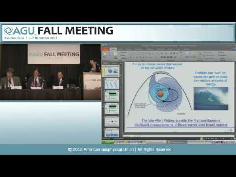 AGU 2012 Fall Meeting: New Findings, New Enigmas: NASA's Van Allen Probes