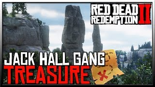 Red Dead 2 Jack Hall Gang Treasure - Red Dead Redemption 2 Treasure Map