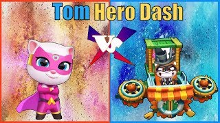 Tom Cat Game - Cat Angela rescue skateboard talking hank | Tom hero dash