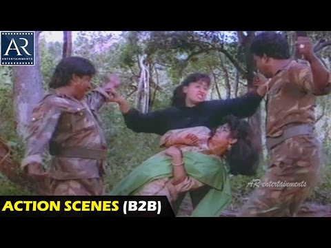 Police Lockup Movie Action Scenes Back to Back | Vijayashanti, Vinod Kumar | AR Entertainments