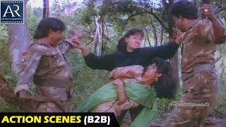 Police Lockup Movie Action Scenes Back to Back | Vijayashanti, Vinod Kumar | AR Entertainments