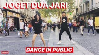 JOGET AISYAH JATUH CINTA PADA JAMILA DANCE IN PUBLIC by David & Océane | Choreo Natya Shina