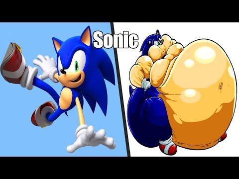 Sonic As Fat